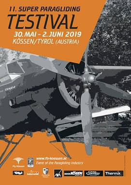 STODEUS will have a booth at the next Super Paragliding Testival in Kössen