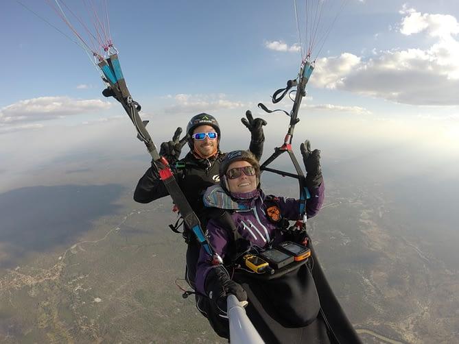 world tandem paragliding record