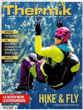 leGPSBip+ in Thermik Mag special hike&fly issue