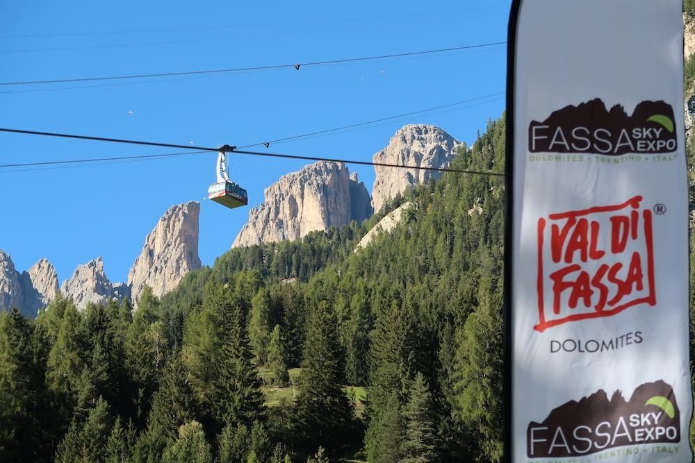 stodeus at fassa sky expo in the Dolomites