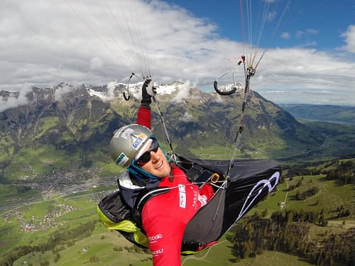 Red Bull X-Alps training