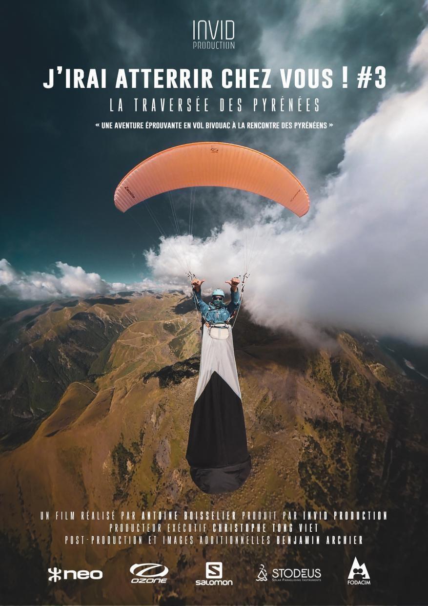 affiche du film de antoine boisselier j'irai atterrir chez vous 3